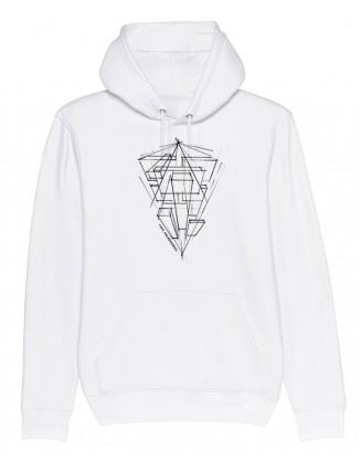 PK ARTWORK 2021 unisex hoodie white