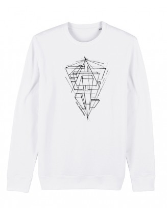 PK ARTWORK 2021 unisex sweater white