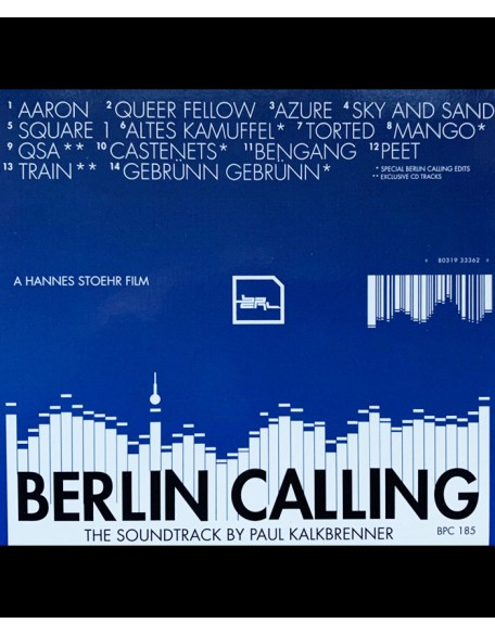 Hand signed BERLIN CALLING CD