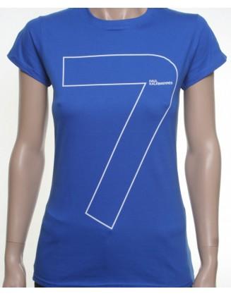 7 shirt blue girl