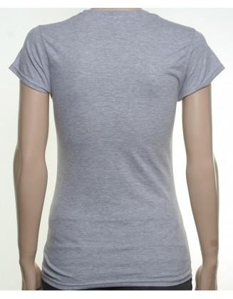 7 shirt grey girl