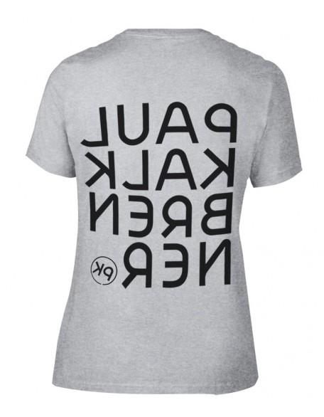 Mirror shirt grey girl