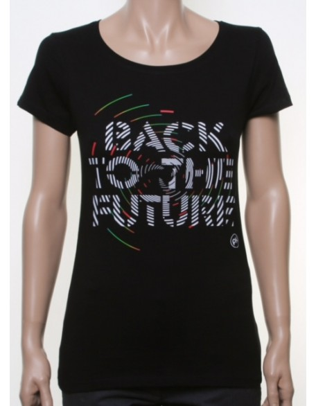 BTTF shirt black girl