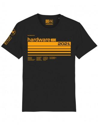 PK HARDWARE unisex shirt black-yellow