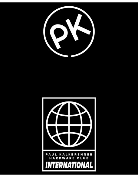 PK HARDWARE unisex shirt black-white