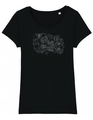 Speak up engine girl shirt